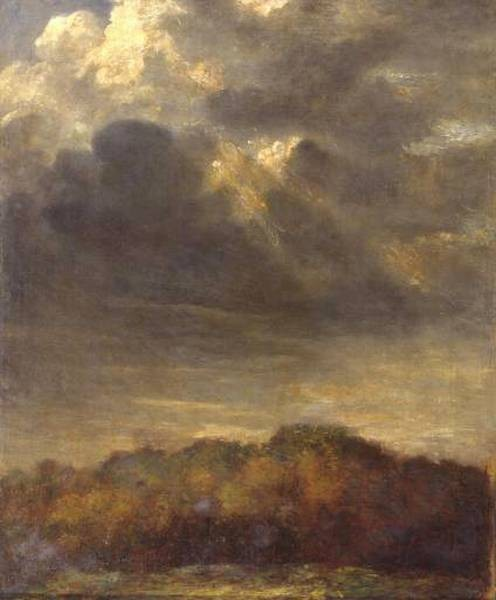 Study of Clouds c1890 1900